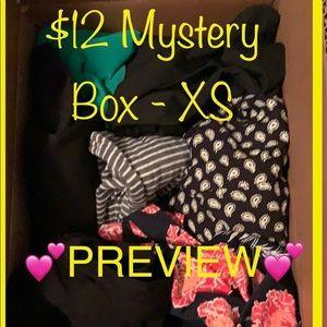 5-7 Items! $12 Mystery Box - Size XS